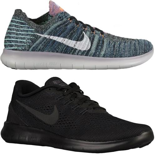 Nike Frees : 40% off + $5 Flat S/H