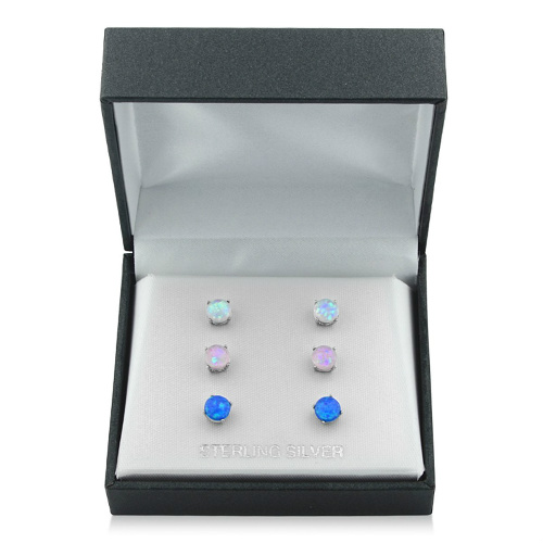 83% off Opal Earring Sets : Only $11.99