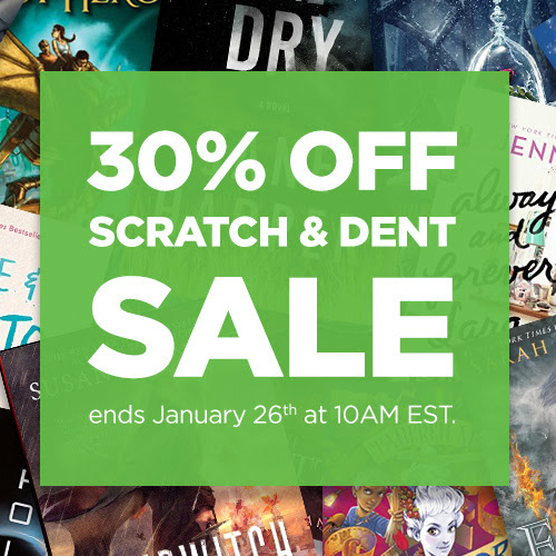 Up to 96% off Scratch & Dent Books : Prices start at 76&cent