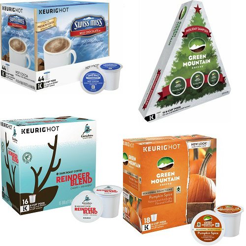 50% off Seasonal K-Cups : $5.99-$14.99