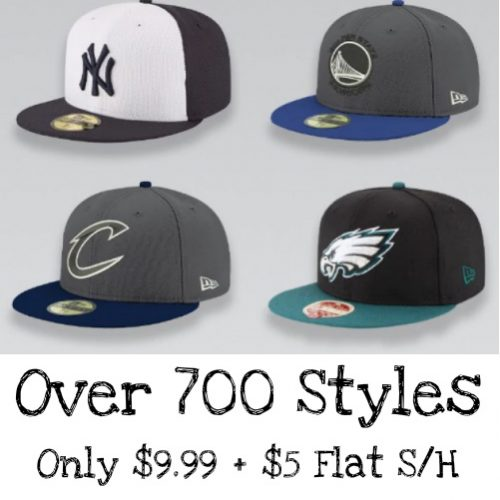 Up to 73% off Sports Fan Ball Caps : Only $9.99 + $5 Flat S/H