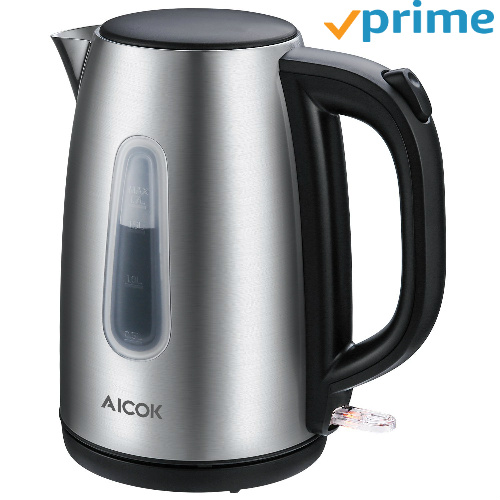 61% off Stainless Steel Electric Kettle : Only $19.24