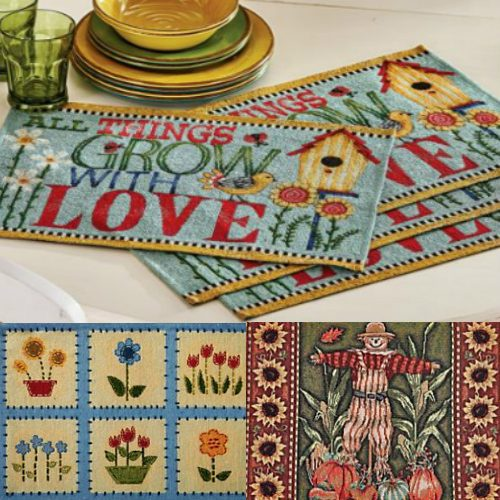 67% off Set of 4 Tapestry Placemats : $4.97 + Free S/H