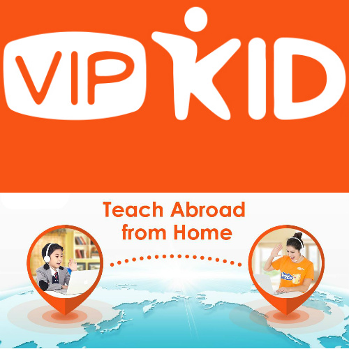VIP Kid : Earn Extra Money Teaching English via Video Conferencing
