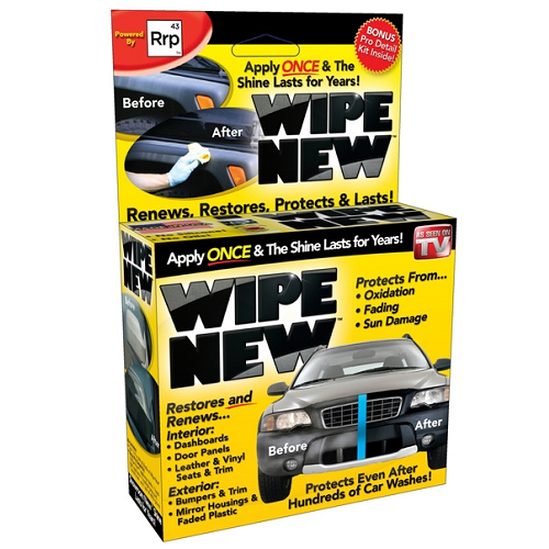 55% off Wipe New Car & Home Kits : $8.99 + Free S/H