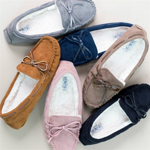 49% off Women's Moccasin Slippers : Only $17.99