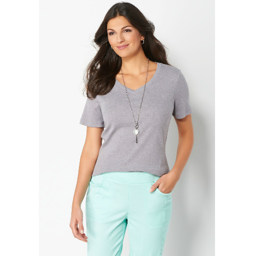 82% off Women's Small V-Neck Tee : $2.99 + Free S/H