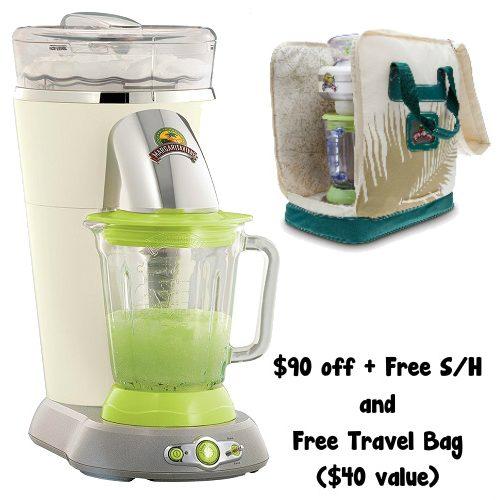 57% off Margaritaville Frozen Concoction Maker w/Free $40 Travel Bag : $99.99 + Free S/H
