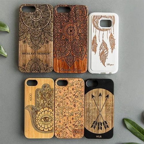 56% off Personalized Engraved Wooden Phone Cases : Only $8.99