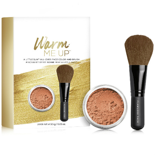 65% off bareMinerals Face Color and Brush Set : $12 + Free S/H
