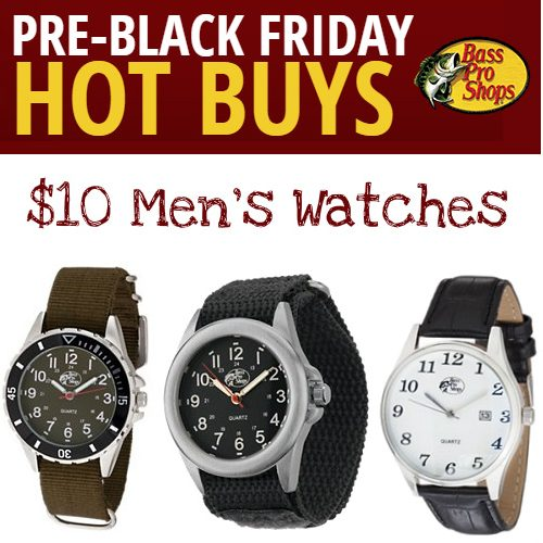 50% off Bass Pro Shops Watches : Only $9.97