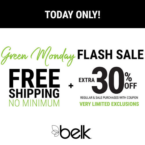 Belk : Extra 30% off + Free S/H