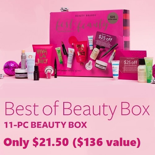 84% off 11-PC Best of Beauty Box : Only $21.50
