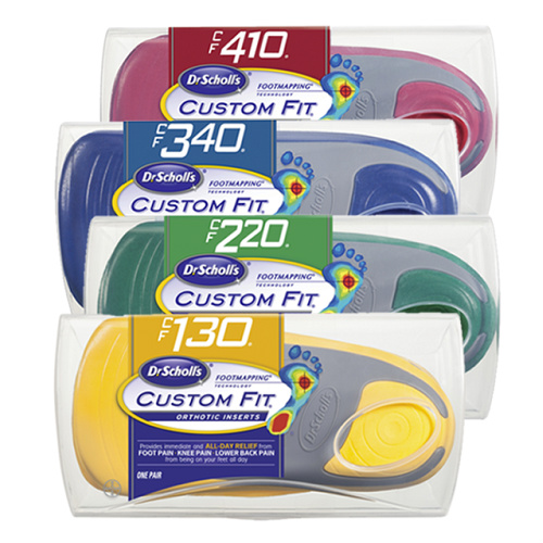 50% off Dr. Scholl's Custom Fit Orthotic Inserts : $24.99 AR + Free S/H