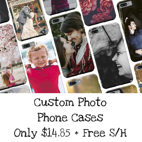 61% off Custom Photo Phone Cases : Only $14.85 + Free S/H