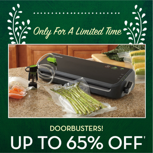 65% off FoodSaver FM2100 Vacuum Sealing System : $41.99 + Free S/H