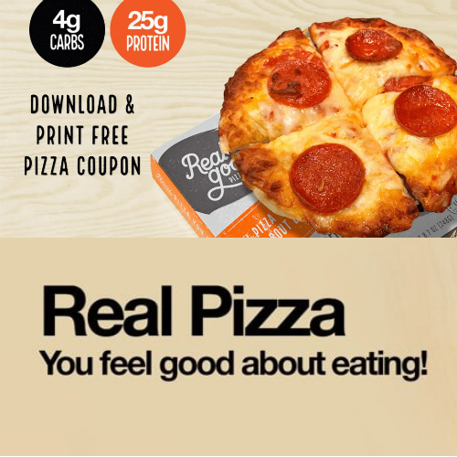 Realgood Foods Co. : Free Pizza