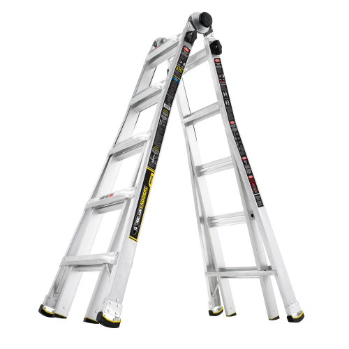 50% off Gorilla Ladders 22 ft. Telescoping Multi-Position Ladder : Only $99