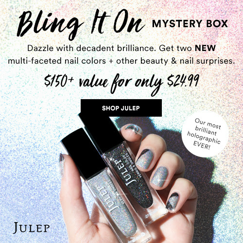 83% off Julep Mystery Box : $24.99 + Free S/H