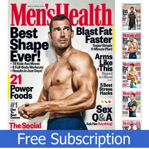 Men's Health Magazine : Free Subscription