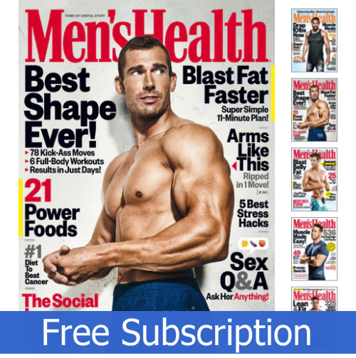 a470c3fcf60 Men s Health Magazine   Free Subscription