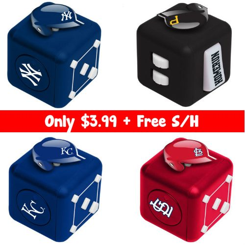 60% off MLB Fidget Cubes : Only $3.99 + Free S/H