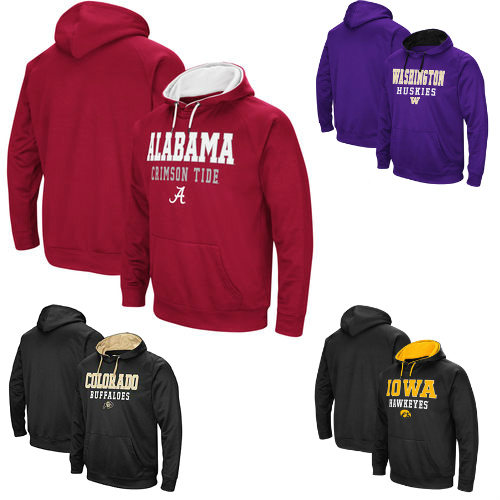 Up to 63% off NCAA Sweatshirts : $14.99 & $19.99 + Free S/H