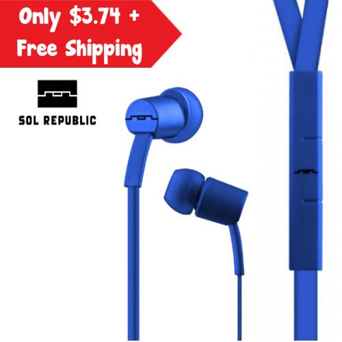 90% off Refurb Sol Republic Earbuds : $3.74 + Free S/H