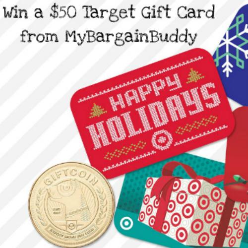 MyBargainBuddy Giveaway : $50 Target Gift Card