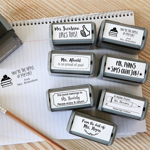 75% off Self-Inking Teacher Stamps : Only $9.99