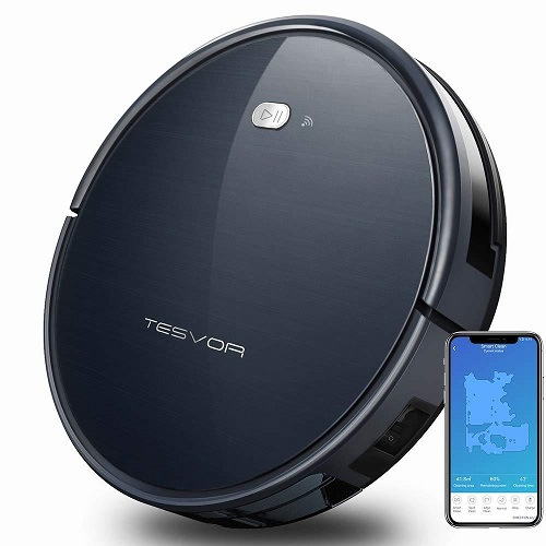 Tesvor Robot Vacuum X500 with Wifi : Only $159.99 + Free S/H