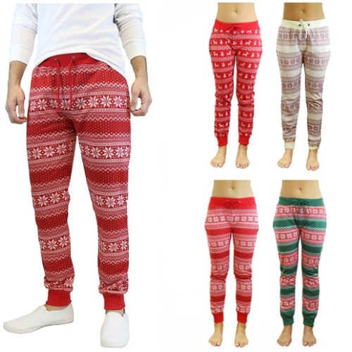 74% off Ugly Christmas Joggers : $14.99 + Free S/H