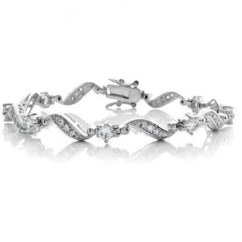 42% off Vintage-Look CZ Bracelet : $16.99 + Free S/H