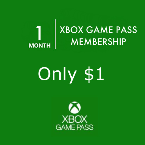 90% off 1-Month Xbox Game Pass Membership : Only $1