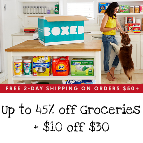 Boxed Sale at zulily : Up to 45% off Groceries + $10 off $30 + Free 2-Day S/H on $50