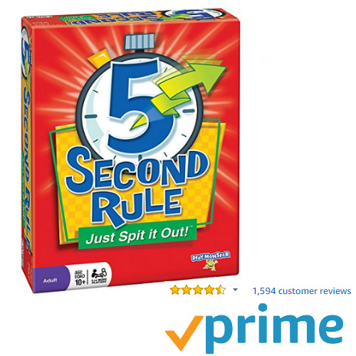 44% off 5 Second Rule Game : Only $13.94