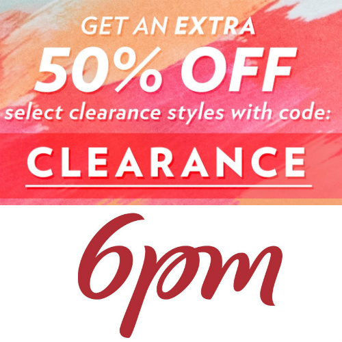 6PM : Extra 50% off over 11,000 items