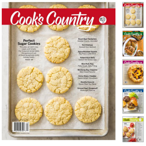 60% off Cook's Country Magazine Subscription : Only $7.95
