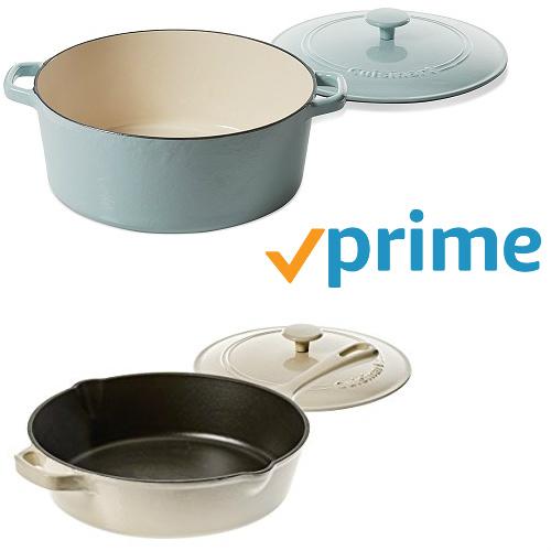 Cuisinart Cast Iron Cookware : 61-72% off + Free S/H