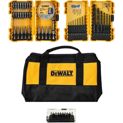 53% off Dewalt 80-PC Screwdriver Bit Set : $18.98 + Free S/H
