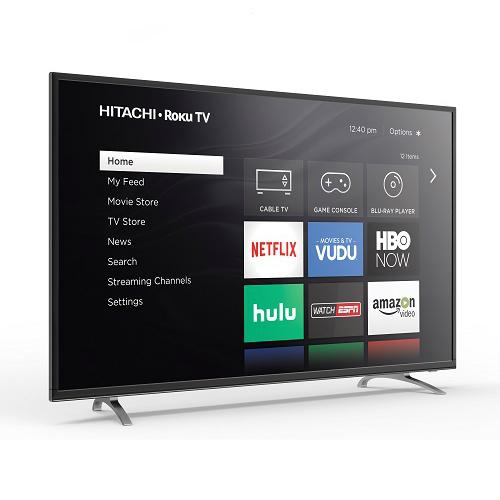 $200 off Hitachi 60″ Smart LED TV : $479.99 + Free S/H