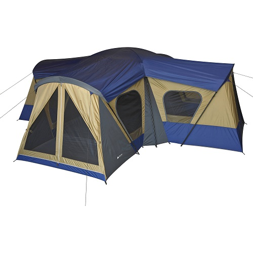 44% off Ozark Trail 14-Person 4-Room Base Camp Tent : $139.97 + Free S/H