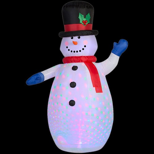 50% off Projection Inflatable Snowman : $24.99 + Free S/H