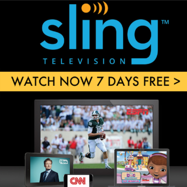Sling TV : 7-Day Free Trial