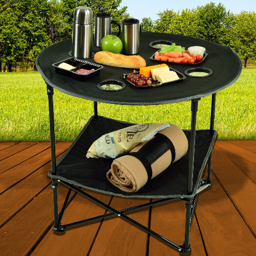 60% off Folding Picnic Table : Only $16