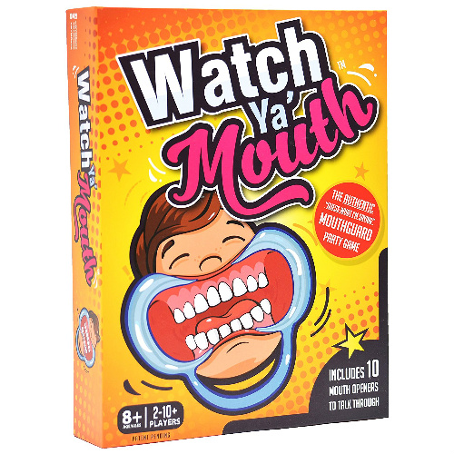 61% off Watch Ya Mouth Game : $7.99 + Free S/H