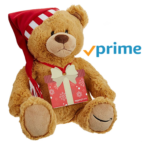Amazon : Free Gund Bear with $100+ Gift Card order