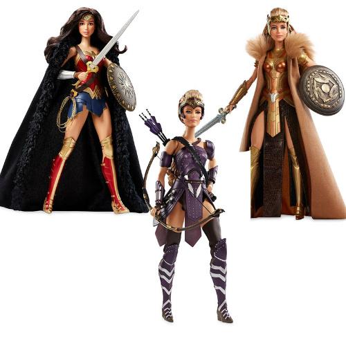 45% off Barbie Wonder Woman 3-Doll Set : $74.99 + Free S/H