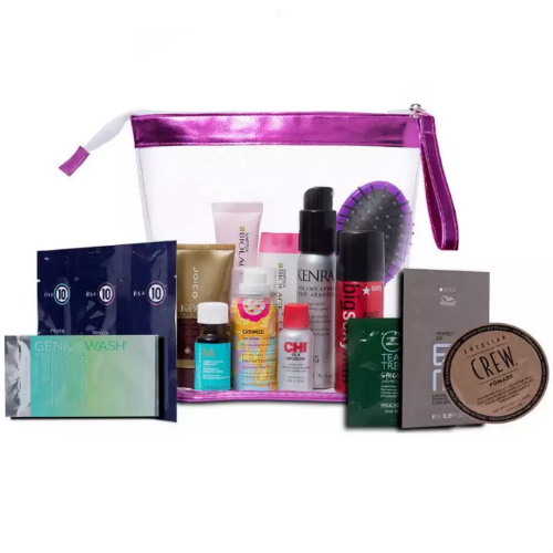 91% off 16-PC Hair Care Try Me Bag : 2 for $17.93 Shipped