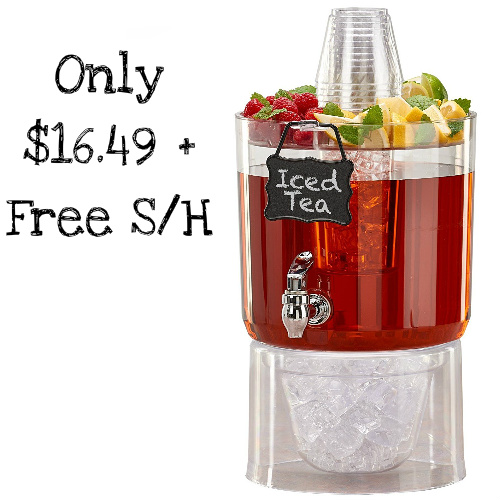 Party Drink Dispenser : $16.49 + Free S/H